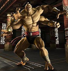 Mortal Kombat Game Goro Toy Action Figure RARE Exclusive Vtg Combat