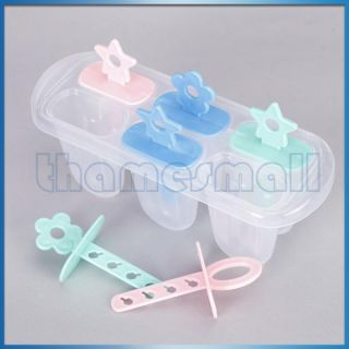 Maker Ice Cream Mold Set of 6 Freeze Pops for Party Food DIY HOT