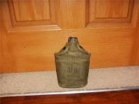 Vintage Military Canteen Case War Army M1956 Vietnam