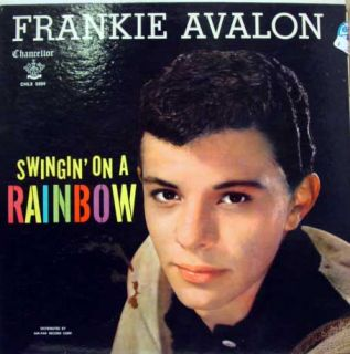 Frankie Avalon Swingin on A Rainbow LP VG CHLX 5004 Vinyl 1959 Record
