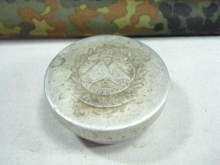 WW2 German Ally Mountain Troops Aluminum Food Container
