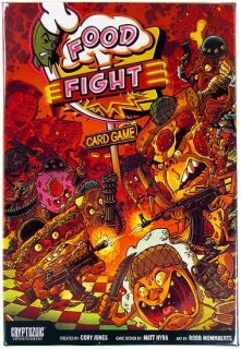 Food Fight Trading Card Game Cryptozoic Entertainment