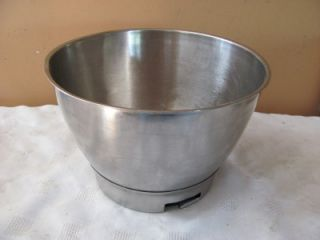 Kenwood Chef Elec Food Mixer Stainless Steel Bowl Accessory for 700