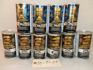 LOT OF 10 BG44K FUEL SYSTEM CLEANER TREATMENT MOA ENGINE OIL