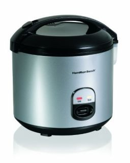 New Hamilton Beach 4 Cup to 20 Cup Rice Cooker and Food Steamer