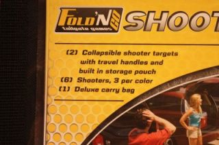 Franklin Fold N Go Shooters Bean Bag Type Game Foldable Portable