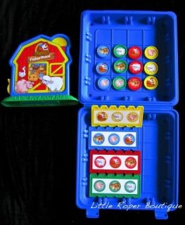 Barnyard Bingo Fisher Price Toddler Game Case Complete Speech Therapy