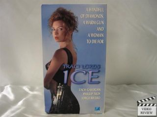 Ice VHS Traci Lords Zach Galligan Phillip Troy