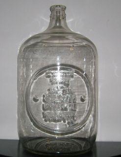 Gallon Detroit Absopure Glass Bottle Carboy Beer Wine