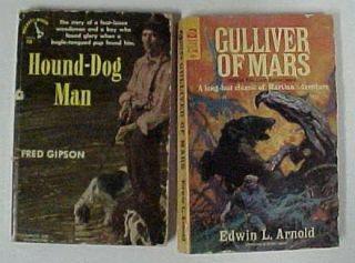 Classic Paperbacks Gulliver of Mars Hound Dog Man Paperback