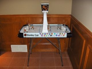 Vintage Coleco 5385 NHL Stanley Cup Playoff Table Top Hockey Game