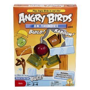 Angry Birds on Thin Ice Game New Board Games Toys Fun Childrens