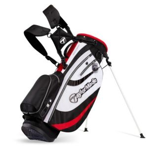 TaylorMade Golf Stratus 3 0 Stand Bag Black White Red