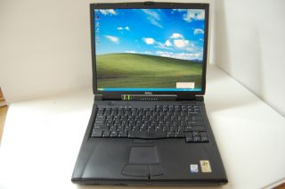Dell Latitude C840 Laptop 1 8 GHz 512MB 30GB WiFi 15