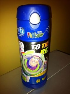 Thermos Funtainer Bottle Buzz Lightyear Toy Story 12 Ounce