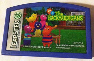 DAY Leapster 2 Leapfrog BACKYARDIGANS Learning Cartridge Game NICK JR