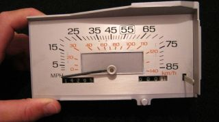 1983 Ford Mercury Cougar Speedometer Hot Rod Racing Rat Rod Lot