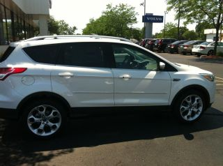 FORD ESCAPE ALL MODELS Painted Body Side Mouldings W/Chrome Inser Trim