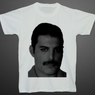 Queen Band Freddie Mercury British Rock Music T Shirt S