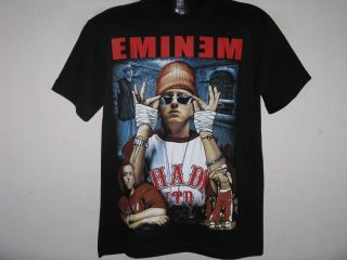 New Eminem M M Gangsta Rap Mens T Shirt Size L