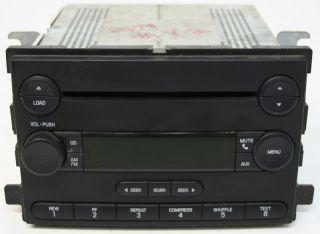 2004 2005 Ford Freestar Factory Stereo 6 Disc Changer CD Player Radio