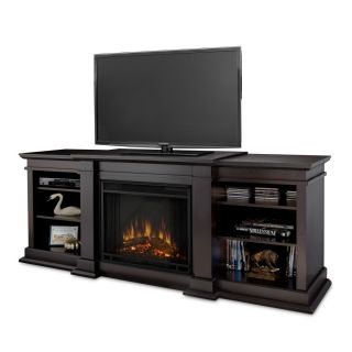Real Flame FRESNO Portable Electric Fireplace Entertainment Center