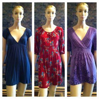 Juniors Womens Summer Mini Dress Tunic Top Forever21 Small