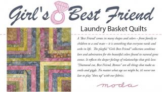 Girls Best Friend Batik Moda Layer Cakes 10 Squares