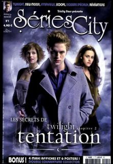 2009 French magazines Series City #1 Twilight Robert Pattinson Kristen