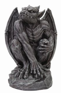 Gargoyle Statue Home Collection Figurine Decoration Skull Fairy