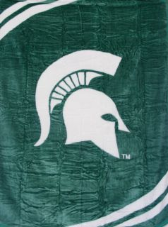 Michigan State Spartans MSU 60x80 Soft Plush Blanket