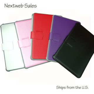 Folding Stand for Samsung Galaxy Tab 10 1 P7510 Carbon Pattern