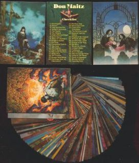 DON MAITZ Series 1   90 Card FPG (Friedlander) Fantasy Art Set