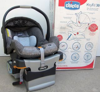 Keyfit 30 Cubes Car Seat Infant Used Base Box Baby Newborn Rear Facing Chicco KeyFit