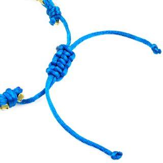 Knit Friendship Bracelets Rhinestone Lucky Bracelet BR1288