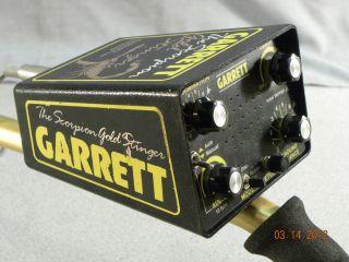 Garrett Scorpion Gold Stinger Crossfire Metal Detector