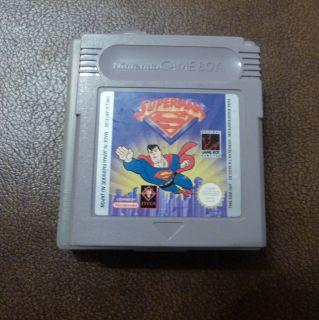Superman Nintendo Game Boy Cartridge