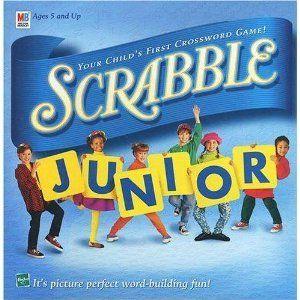 New Scrabble Junior Edition Board Game