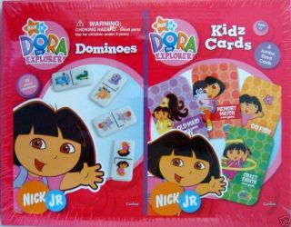 Dora The Explorer Dominoes Kidz Cards Games Nick Jr