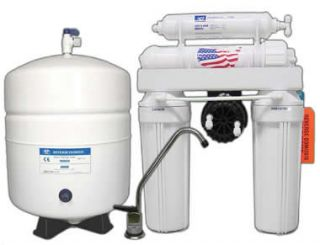 Reverse Osmosis Drinking Water System w Permeate Pump