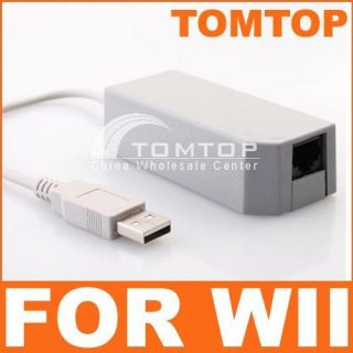 USB 2 0 LAN Adapter Network Card for Nintendo Wii Game