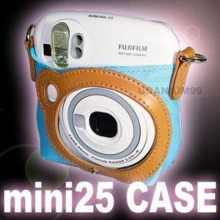 Fujifilm Fuji Instax Mini 25 Instant Film Camera Nylon Case Bag Strap