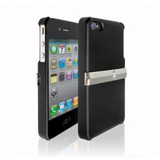 iPhone 4 Hard Case with Metal Stand Free Screen Gard