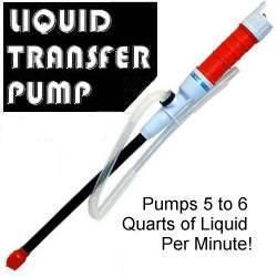 Liquid Transfer Pumps Battery Power Siphon Gas Water