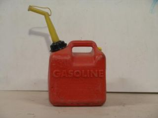 Model P 20 Vented 2 Gallon Plastic Gas Can with Spout, Pre Ban Type