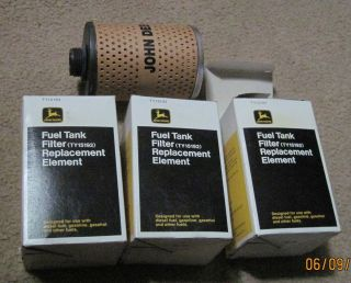 Lot of 3 Fuel Tank Filter Replacement Elements TY15192 New