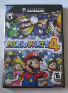 You are bidding on Mario Party 4 for the Nintendo Gamecube system.