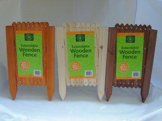 Extendable Garden Lawn Edging Wood Wooden Trellis Fence Border Pine