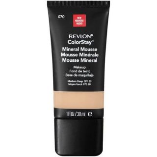 REVLON COLORSTAY MINERAL MOUSSE MAKEUP SPF 20 070 MEDIUM DEEP