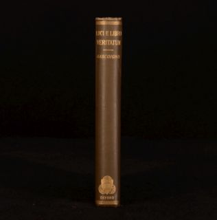 1881 Loci E Libro Veritatum Passages Gascoigne Theological Dictionary